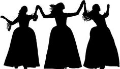 Schuyler sisters silhouette
