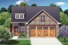 Craftsman   Farmhouse  House Plan 88634 love the look of the house