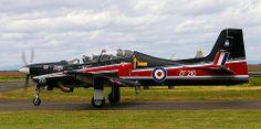 RAF Shorts TUCANO T1 - Perth Airport
