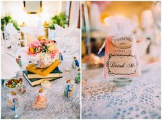 DIY Alice in Wonderland Wedding in Mesa Arizona #DIY #disney #wedding