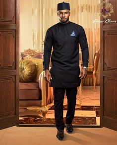 If you're looking for the latest native wears for guys, this post is for you. I've selected the best native styles for men for you and there are some tips. African Dresses Men, African Attire For Men, African Clothing For Men, African Wear, African Style, African Clothes, African Design, Nigerian Men Fashion, African Men Fashion