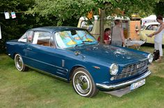1965 Fiat 2300 S Coupe by Ghia