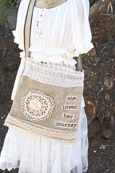 she loves her journey handbag - $60.00 : Beth Quinn Designs , Romantic Inspirational Jewelry