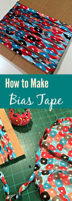 Create your own bias tape easily with this photo tutorial. sewing for beginners   bias tape how to   sew bias tape   diy bias tape   diy binding   learn to sew   easy sewing patterns   free sewing pattern   how to finish seams   how to sew bias tape