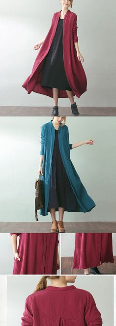 Its time for preparing new outfits for AUTUMN .How about this look? Linen Dresses, Cotton Dresses, Modest Fashion, Fashion Outfits, Womens Fashion, Fall Outfits, Casual Outfits, Indian Party Wear, Simple Dresses