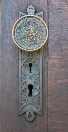 Door Knob - Fredericksburg, TX by cgmethven, via Flickr