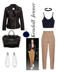 """Kendall Jenner"" by leatitiakhalid on Polyvore featuring mode, Bottega Veneta, Anine Bing, Givenchy et Miss Selfridge"