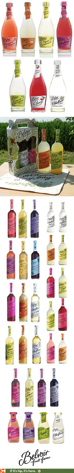 All of Belvoir Fruit Farms refreshing looking Cordials, Stills and Bottled beverages.