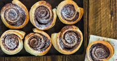 Two ingredients to make the base, and the world is your oyster with this amazing cinnamon pinwheels recipe