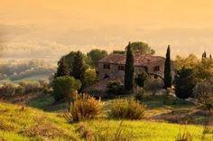 Tuscan villa.