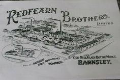Redfearn Bros. Barnsley. Bottle Works.