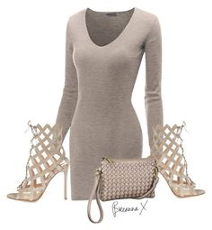 """""""Untitled #2787"""" by breannamules ❤ liked on Polyvore featuring moda, Doublju, Gianvito Rossi y maurices"""