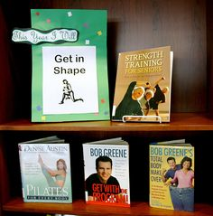 Idea for New Year's Resolution Displays - Adapt for Teens This Year I will ... Get in Shape by Lester Public Library, via Flickr
