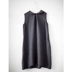 Charcoal Sleeveless Dress