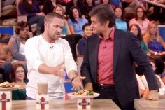 Chris Powell's Carb-Cycling Recipes: Low-Carb Day | The Dr. Oz Show: Shopping list!!