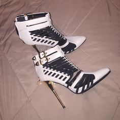 "Spotted while shopping on Poshmark: ""Stiletto sz 8""! #poshmark #fashion #shopping #style #Shoes"