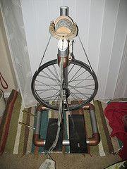 my homemade spinning wheel (thehairballz) Tags: wood original wool bike wheel project ooak homemade spinning pvc hairballzthehairballz
