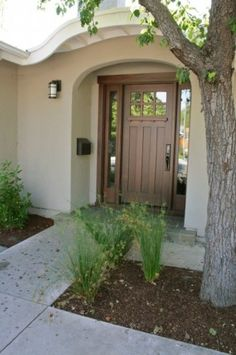 Craftsman style front door...need one just like this for the new house....like it? (need it without the side windows)