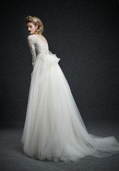 Ersa Atelier Wedding dresses Couture Fall 2015 Collection Moodello: Panthea