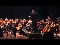 Jose Luis Lara y la Sinfónica de Lara: Adagio del Concierto de Aranjuez. Clausura de I Festival Cenrtroocidental de Guitarra Lara 2015