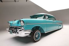 1957 chevrolet bel air driver side front view 015