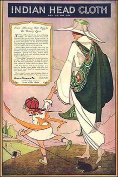 Indian Head Cloth, 1920 - Marjory C. Woodbury