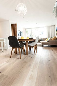 Floors from 'The Block' | Godfrey Hirst New Zealand Floors | Get the look with Regal Oak in Doulton #godfreyhirst #godfreyhirstnz #oakflooring #flooring #timber #floors