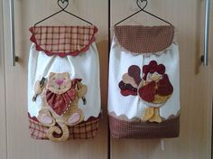 Kitchen Curtains Kitchen Towels Sewing Projects Sewing Crafts Clothespin Bag Home Crafts Diy Crafts Plastic Bag Holders Fridge Decor Sewing Hacks, Sewing Crafts, Sewing Projects, Home Crafts, Diy And Crafts, Arts And Crafts, Patch Quilt, Plastic Bag Holders, Patchwork Bags