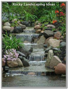 70 Beautiful Backyard Ponds and Water Garden Landscaping Ideas - DecoRemodel Pond Design, Landscape Design, Garden Design, Landscape Materials, Backyard Water Feature, Ponds Backyard, Backyard Waterfalls, Garden Ponds, Ponds With Waterfalls