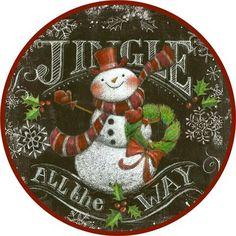 Chalk.Snowmen.-.19.of.21.-.Round.Jingle.-.Geoff.Allen