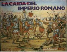 476 d.C - Caida del Imperio Romano - En el año 410, los visigodos saquearon Roma. Los vándalos inundaron el sur de España y África, y los visigodos invadieron España y la Galia. Los vándalos cruzaron hacia Italia desde el norte de África y saquearon Roma en el año 455. En el 476 d.C  una serie de reinos germánicos remplazaron al Imperio Romano de Occidente