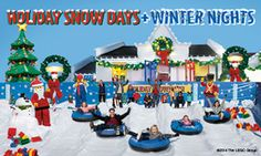 Experience Holiday Snow Days and Winter Nights at Legoland California this holiday season! Plus, with Abenity, you'll save up to 20% off gate pricing! https://discounts.abenity.com/perks/offer/1:44603