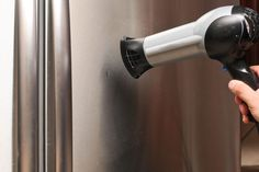 A Gleaming New Stainless Steel Refrigerator Adds Er Eal To Any Kitchen But Even Single Dent Can Significantly Reduce Its Wow Factor In Much The