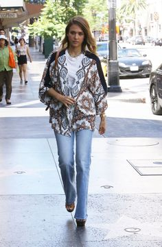 jessica elba | Jessica Alba Street Style - Out in Hollywood, September 2015