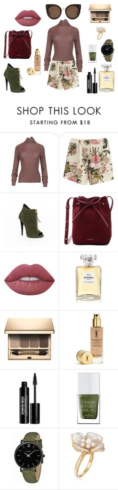 """""""* READY FOR THIS WEEKEND by bOO *"""" by boo-sandra ❤ liked on Polyvore featuring VILA, Mansur Gavriel, Lime Crime, Chanel, Clarins, Edward Bess, The Hand & Foot Spa, CLUSE, Ross-Simons and STELLA McCARTNEY"""