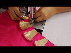 Chudi Neck Designs, Salwar Neck Designs, Saree Blouse Neck Designs, Kurta Neck Design, Patch Work Blouse Designs, Hand Work Blouse Design, Simple Blouse Designs, Stylish Blouse Design, How To Stitch Blouse