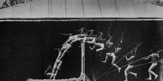 Lomography - The Chronophotography of Etienne-Jules Marey History Of Photography, Chef D Oeuvre, Lomography, Wave Pattern, Poses, Vintage Pictures, Les Oeuvres, Artist, Vaulting
