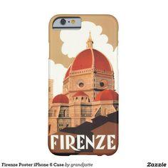 Firenze Poster iPhone 6 Case