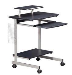 Mobile Stand Up Computer Cart Workstation Desk In Royal