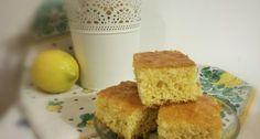 Görög joghurtos citromos süti   APRÓSÉF.HU - receptek képekkel Cornbread, Cooking, Ethnic Recipes, Food, Millet Bread, Kitchen, Essen, Meals, Eten