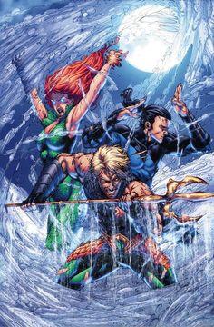 Aquaman #48 by Brett Booth *