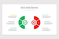 Dos and Don'ts Keynote Presentation Template Color Themes, Colors, Slide Design, Presentation Slides, All Icon, Keynote, Infographic, Templates