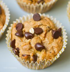 Peanut Butter Chocolate Chip Muffins Recipe on Yummly