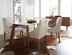 Glass Kitchen Tables, Glass Dining Room Table, Round Dining Table, Dining Area, Dining Furniture, Dining Chairs, Dining Decor, Painted Furniture, Traditional Dining Tables
