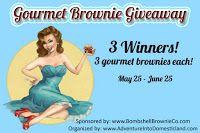 Gourmet Brownie #Giveaway