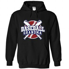 Baseball Grandma T Shirts, Hoodies, Sweatshirts. GET ONE ==> https://www.sunfrog.com/Sports/Baseball-Grandma-8227-Black-53066485-Hoodie.html?41382