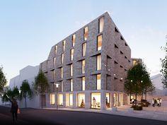 Blick aus Karlsstraße, © steimle architekten