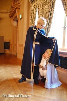 Sweden and Finland (Cosplay)