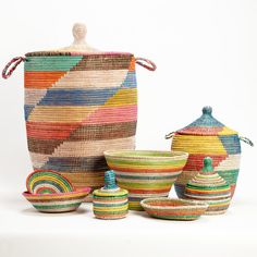 Last 16 hours, African Handwoven Baskets on Fab
