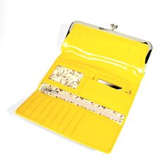 Hobo Lemon Rachel Patent Clutch Wallet - Hobo Wallets - Designer Wallets